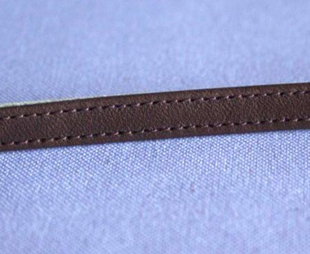 Correa 7 mm Marrón oscuro
