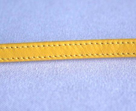 Correa 7 mm amarilla
