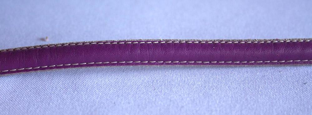 Semicaña Cosida Lila 10mm