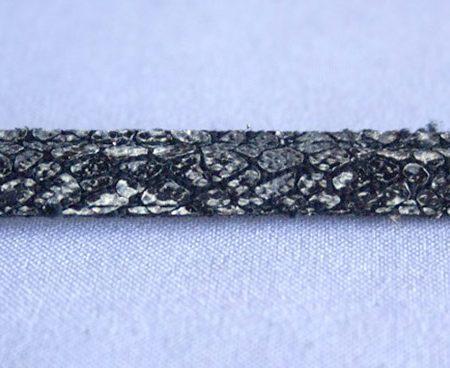 Semicaña Cosida Gris-Negro-Plata