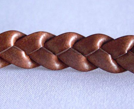 Trenza 3 cabos simil piel