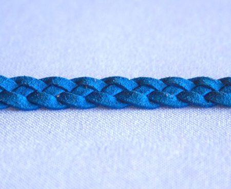 Trenza 4 Cabos Antelina Azul