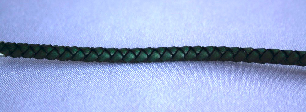 Trenza 4 cabos redonda simil piel