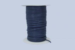 Trenzado plano de color azul