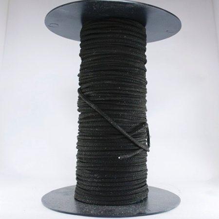 Cordón cosido de Antelina negro nº1